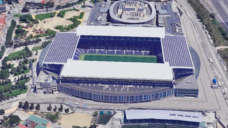 RCDE Stadium / GOOGLE MAPS