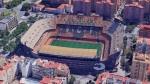 Estadio de Mestalla / GOOGLE MAPS