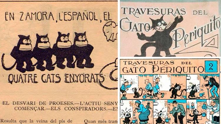 Los 'cuatro gatos' y el Gato Periquito