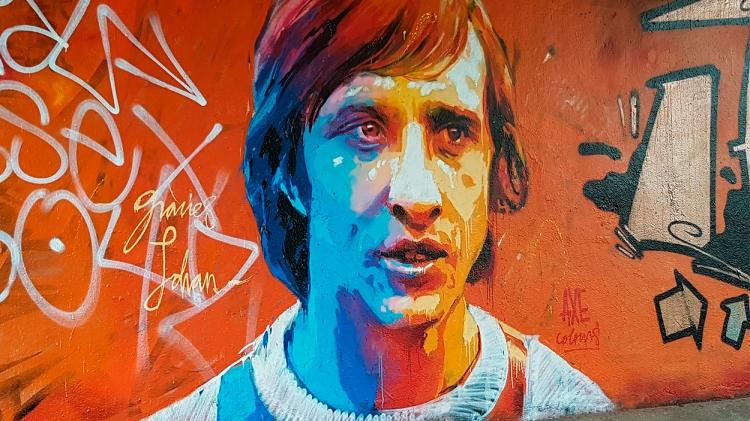 Grafiti de Johan Cruyff / MAKENBACH - PIXABAY