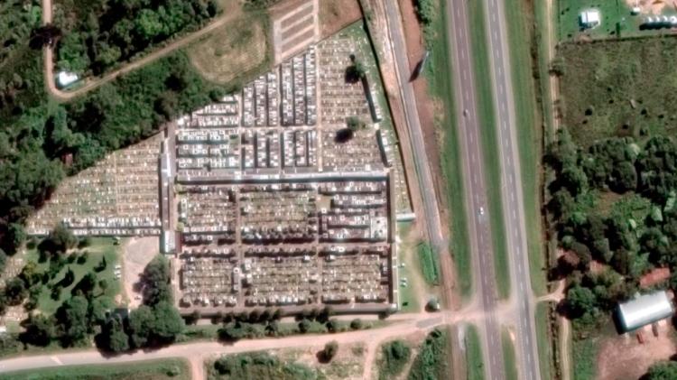 Cementerio de Chascomús, donde está enterrada la bruja Dora / GOOGLE MAPS