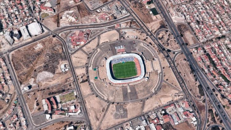 Estadio La Corregidora / GOOGLE MAPS