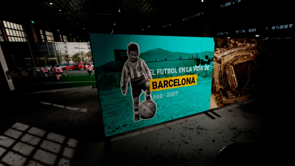 Exposición 'Barcelona & fútbol' / PdF