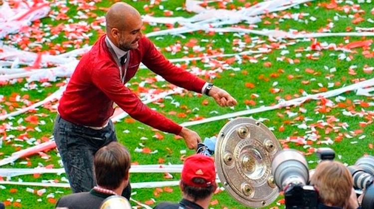 A Pep Guardiola se le escurre el trofeo de la Bundesliga