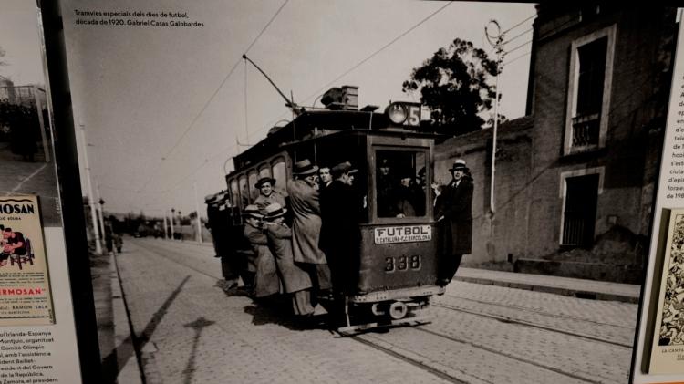 Tranvías especiales de los días de fútbol, década de 1920 / GABRIEL CASAS GALOBARDES - PdF